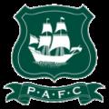 Plymouth Argyle FC football