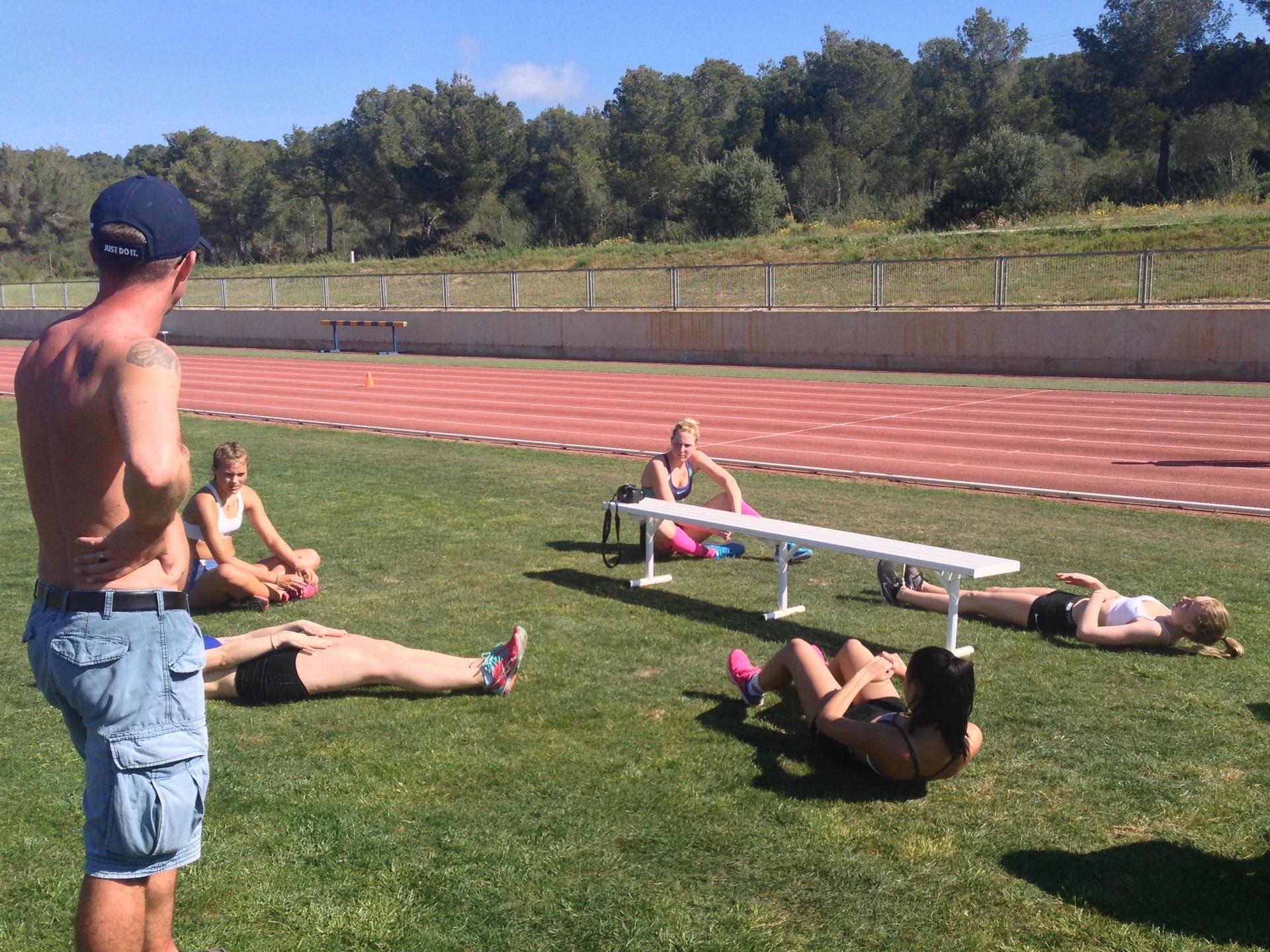 Athletics Stretching