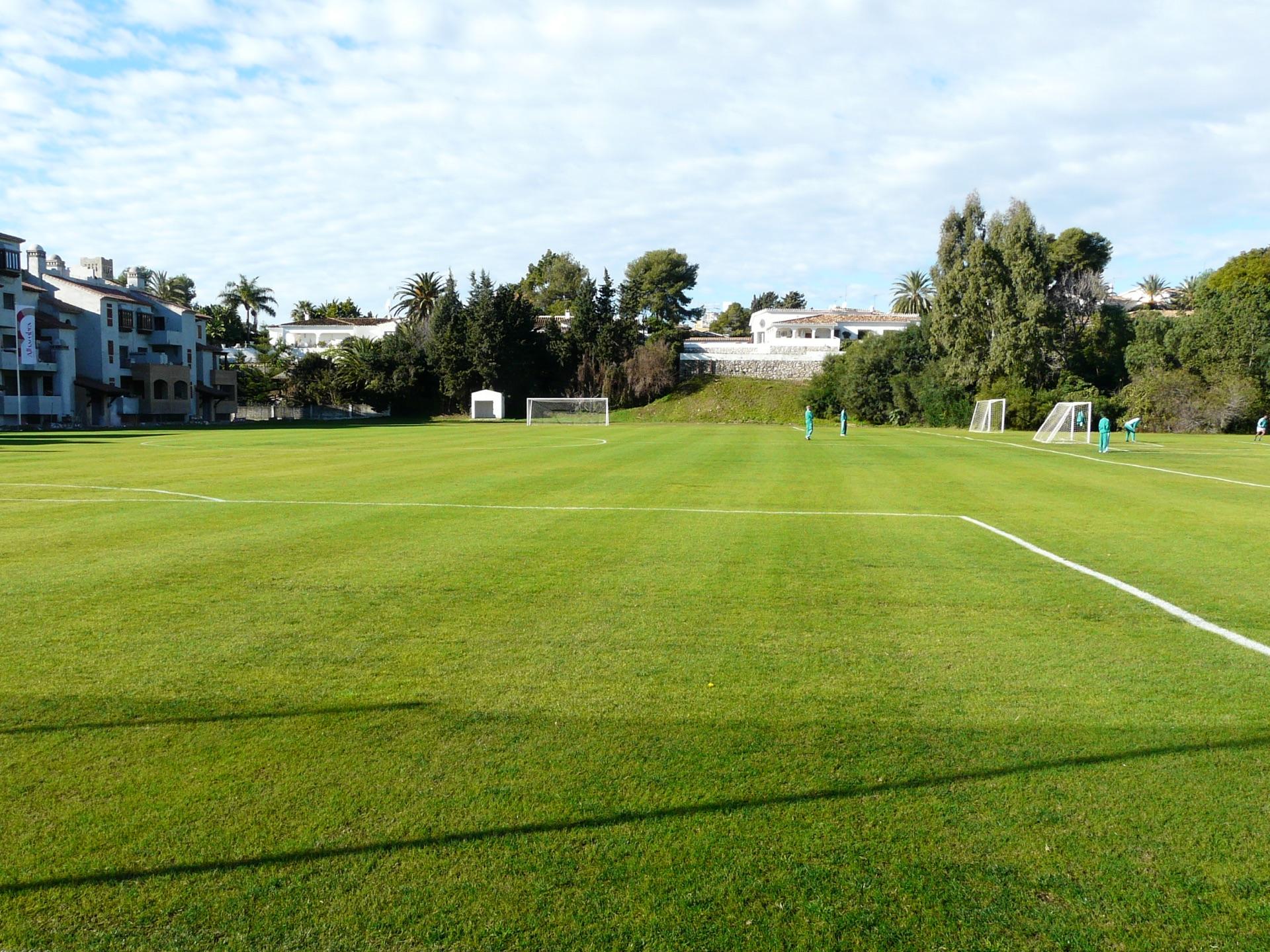 Football pitch atalaya Park