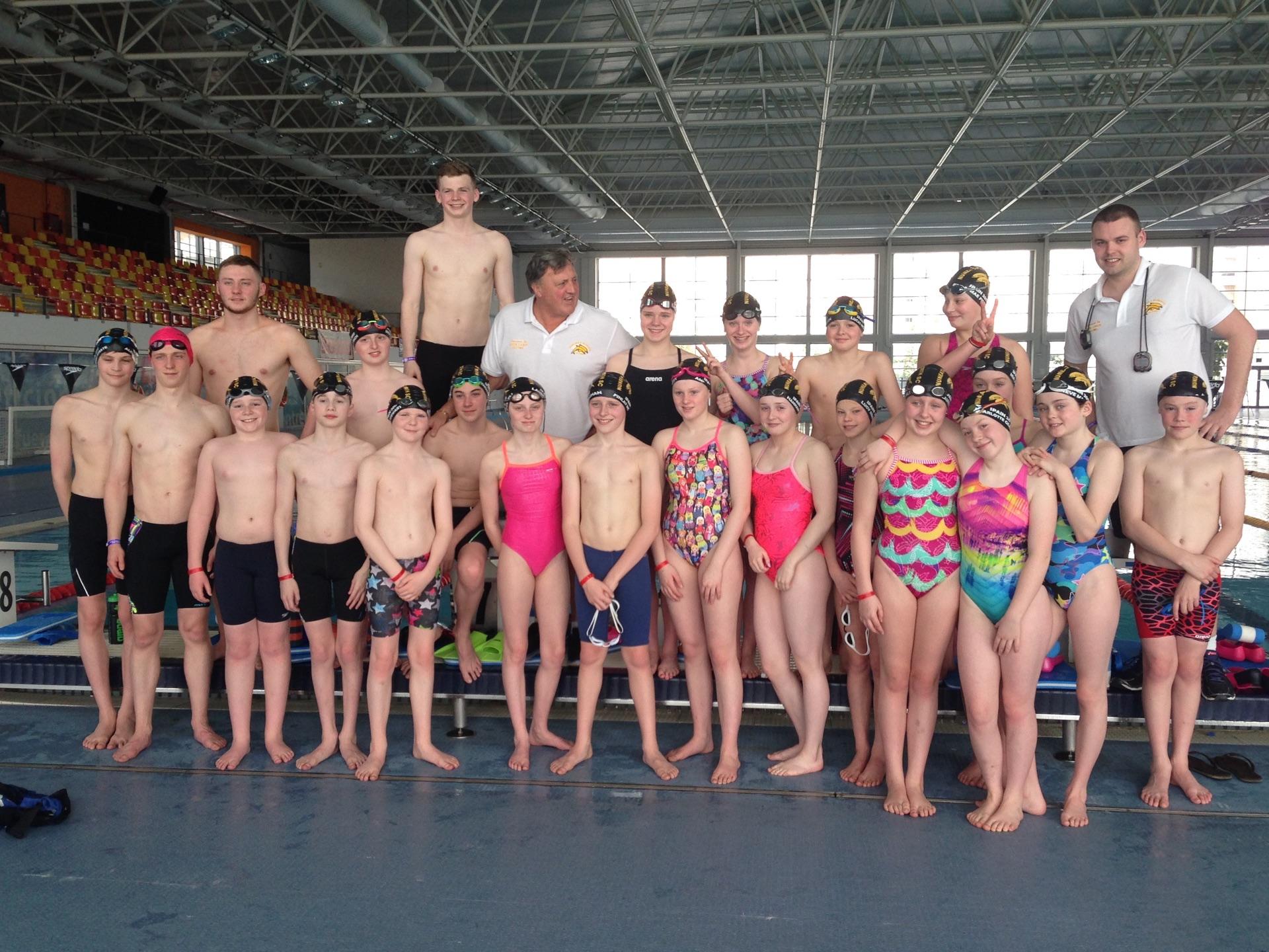 Swimming Team 2