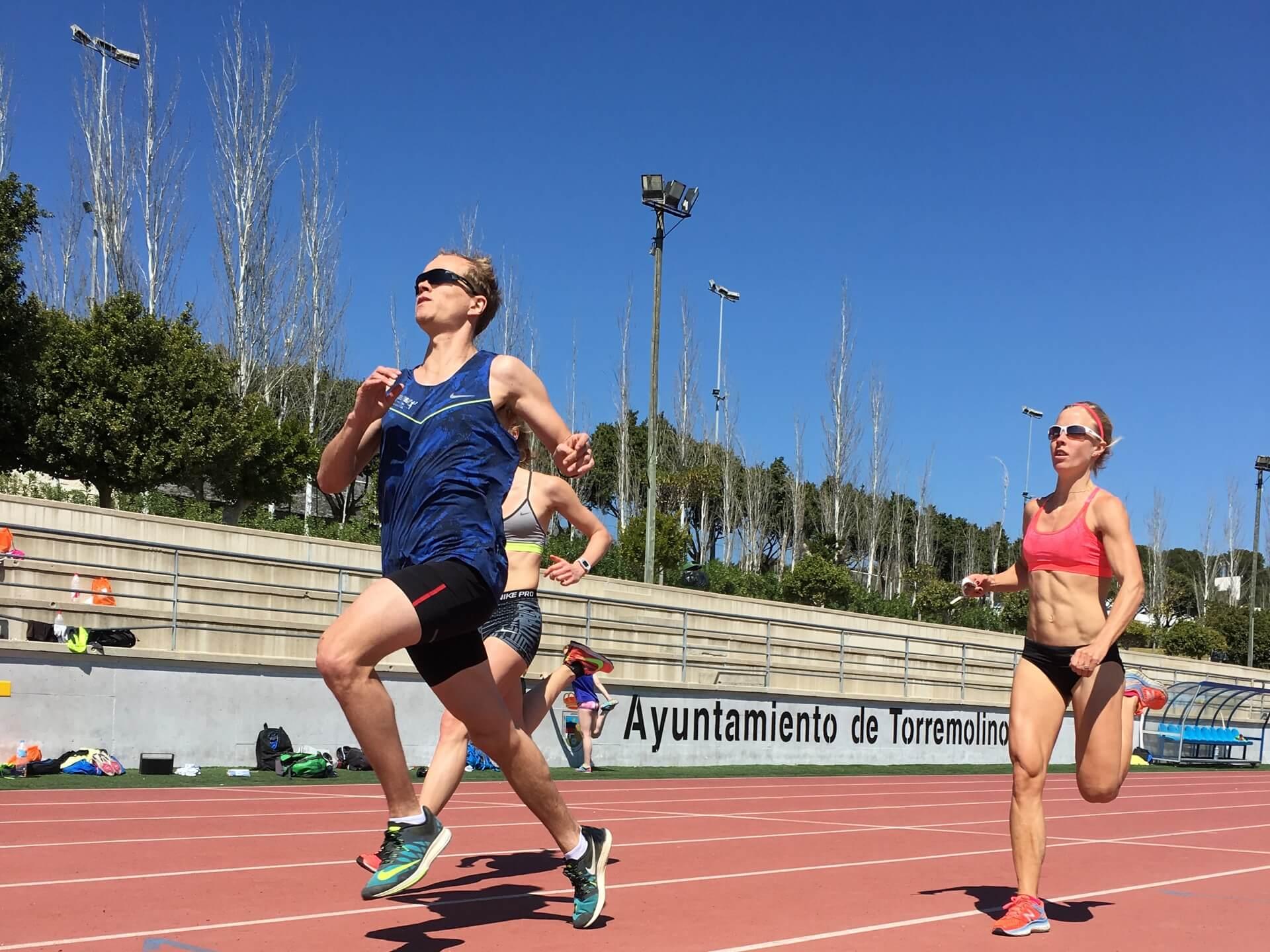 running relay