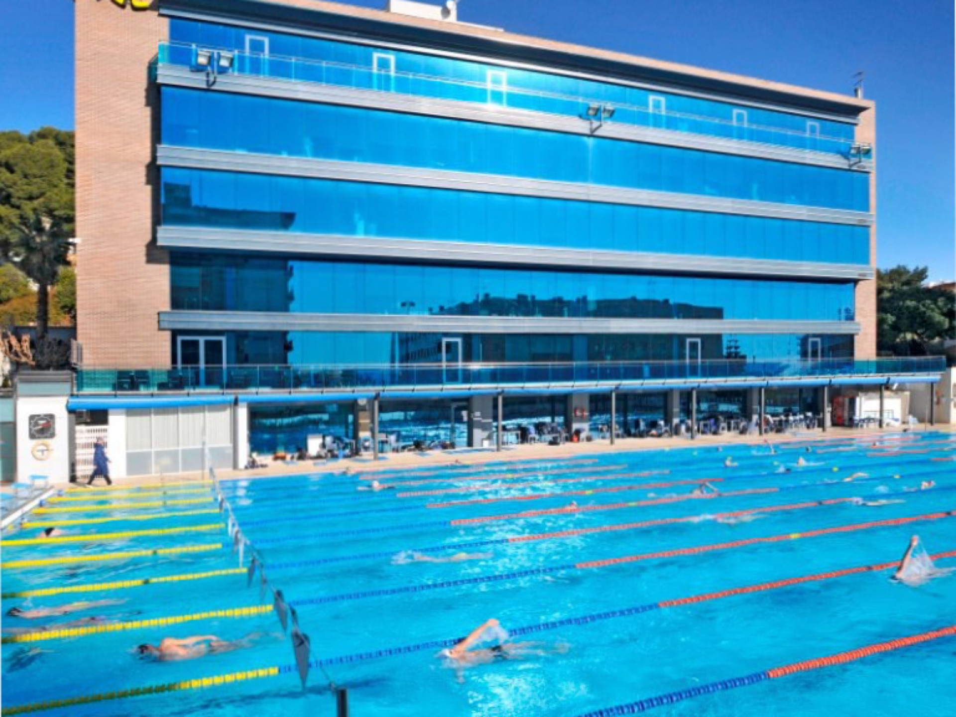 Calella olyimpic outdoor pool 1