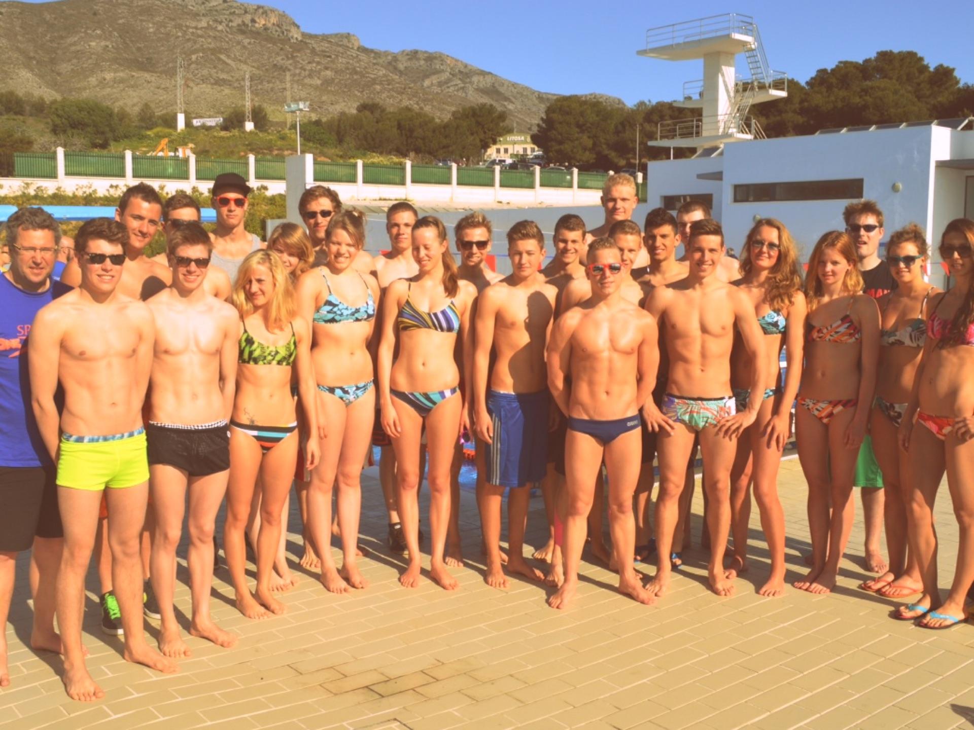 Swim camp Torremolinos
