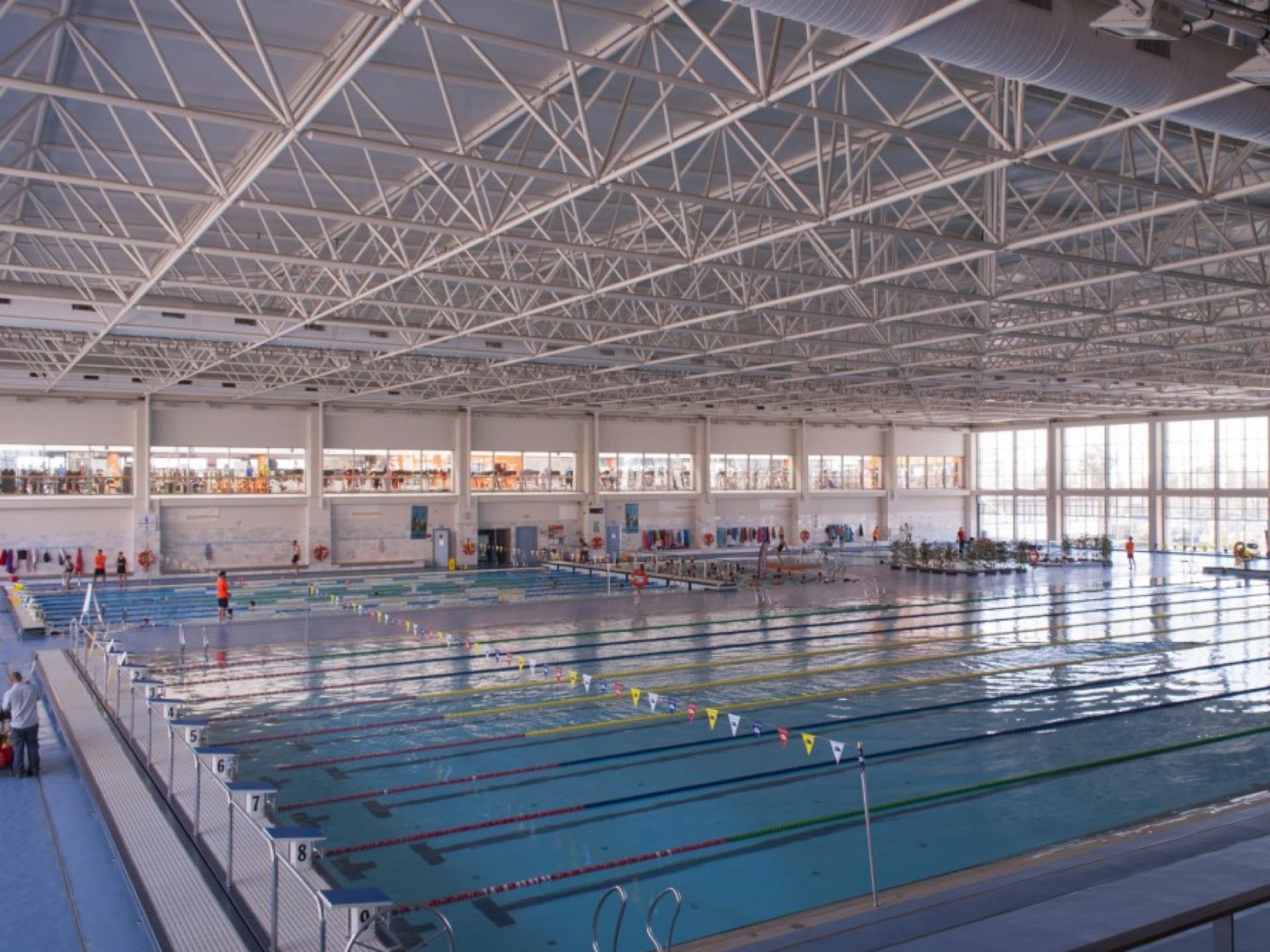 Swim slider Malaga pool