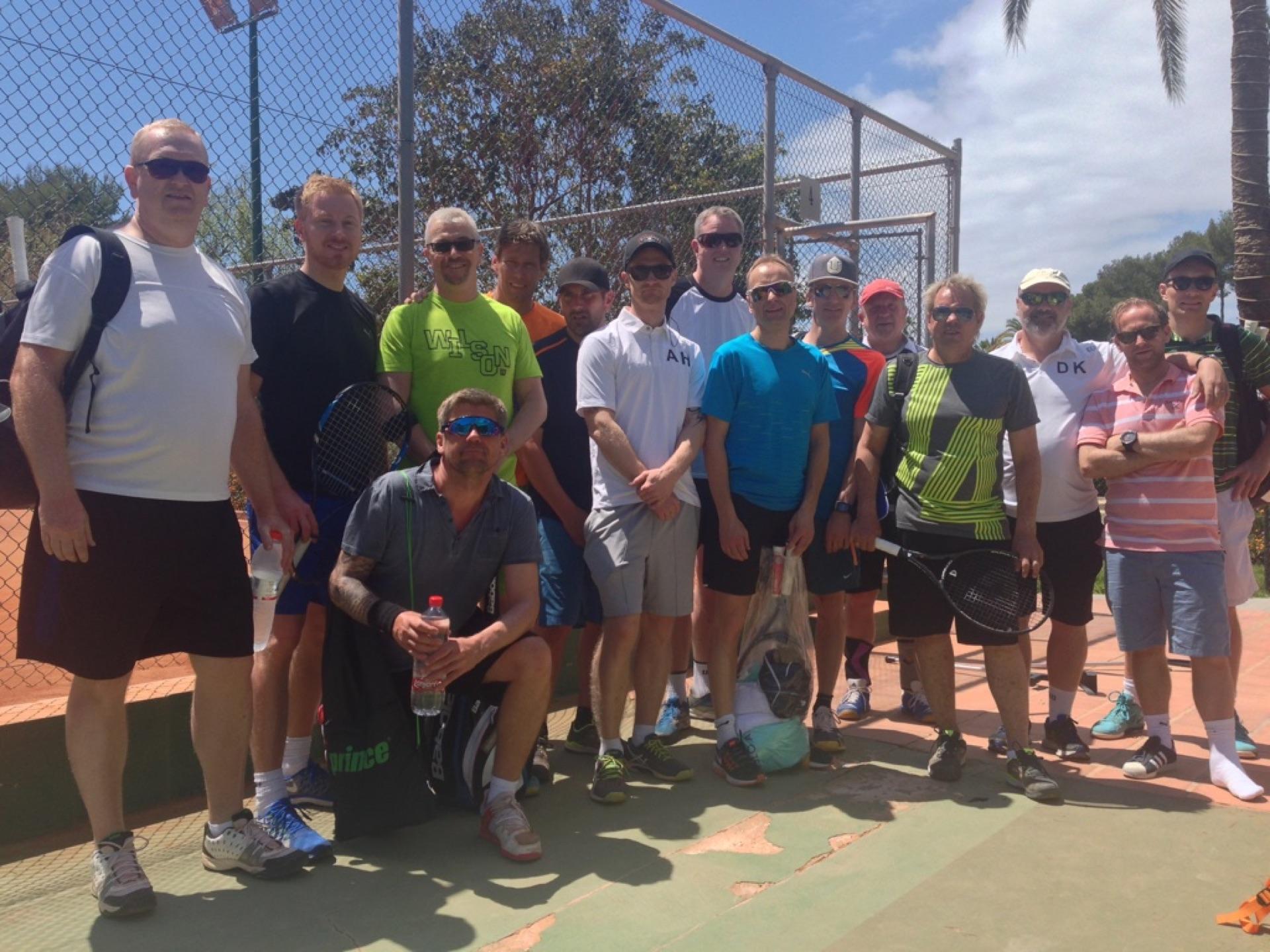 Tennis camp Mijas