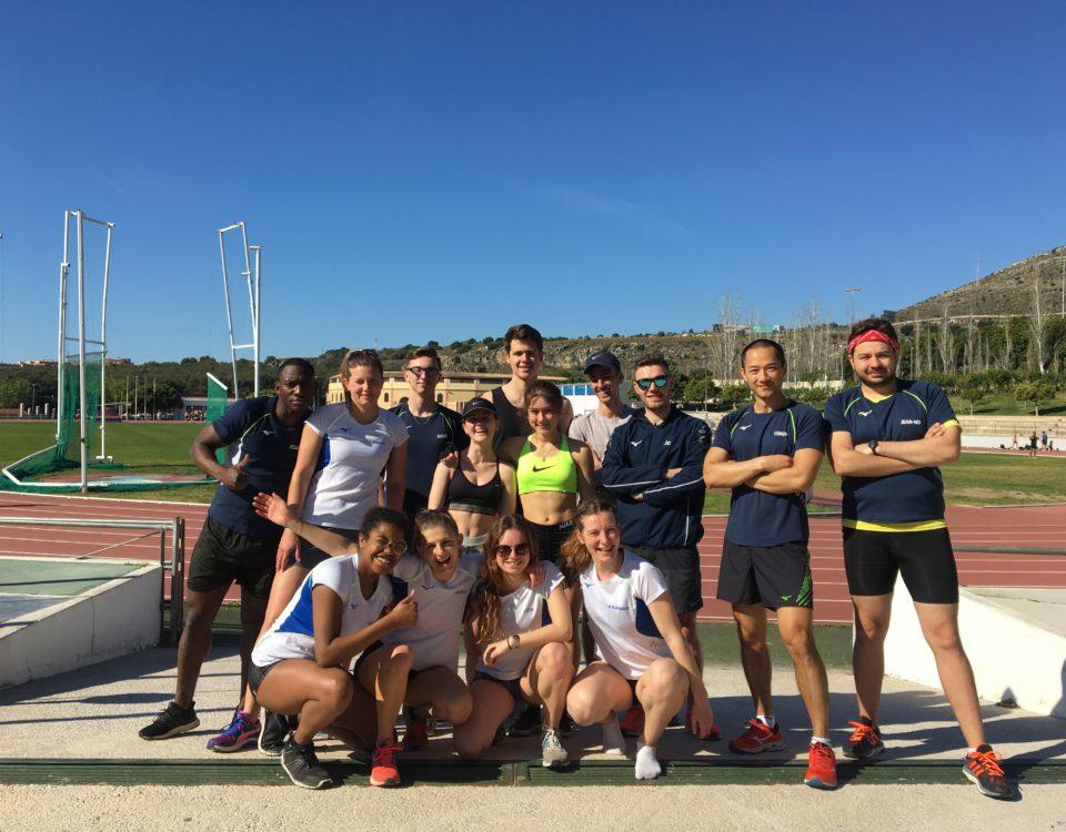Broothearts Athletics Team in Málaga 2019