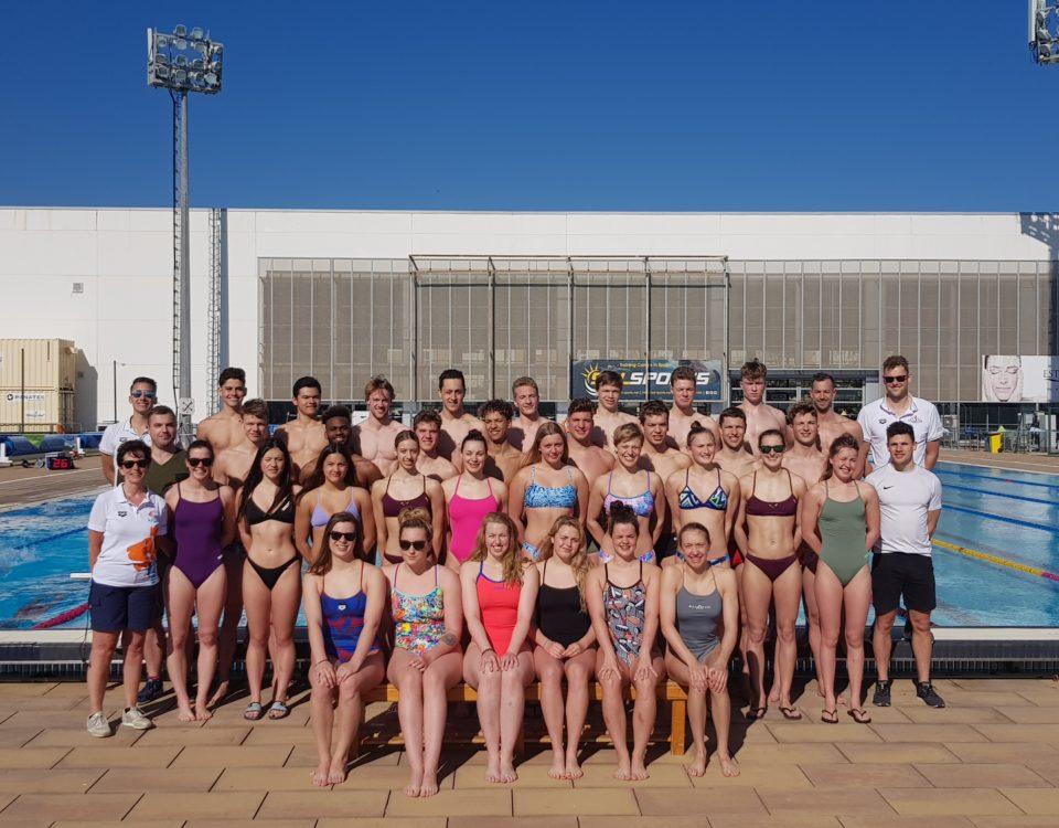 PSV zwemmen in Malaga 2020