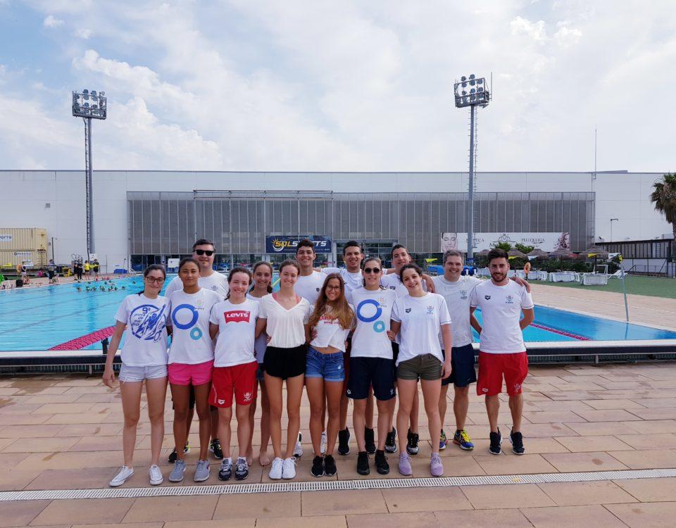 Portugal National Swim Team in Málaga 2019