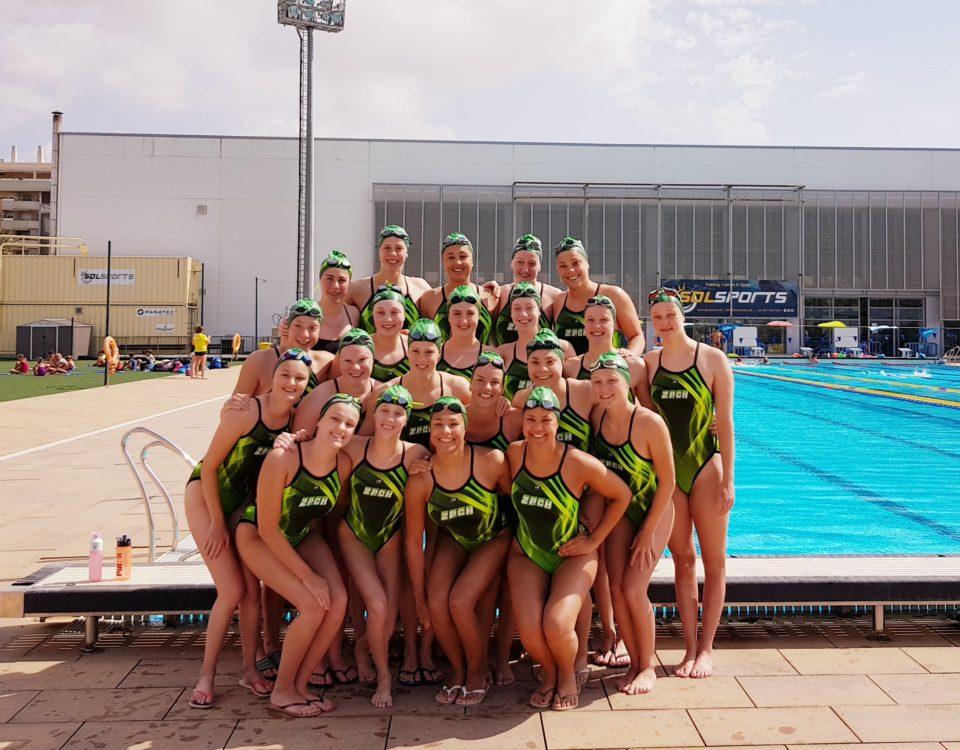 ZPCH Synchroonzwemmen in Malaga 2019