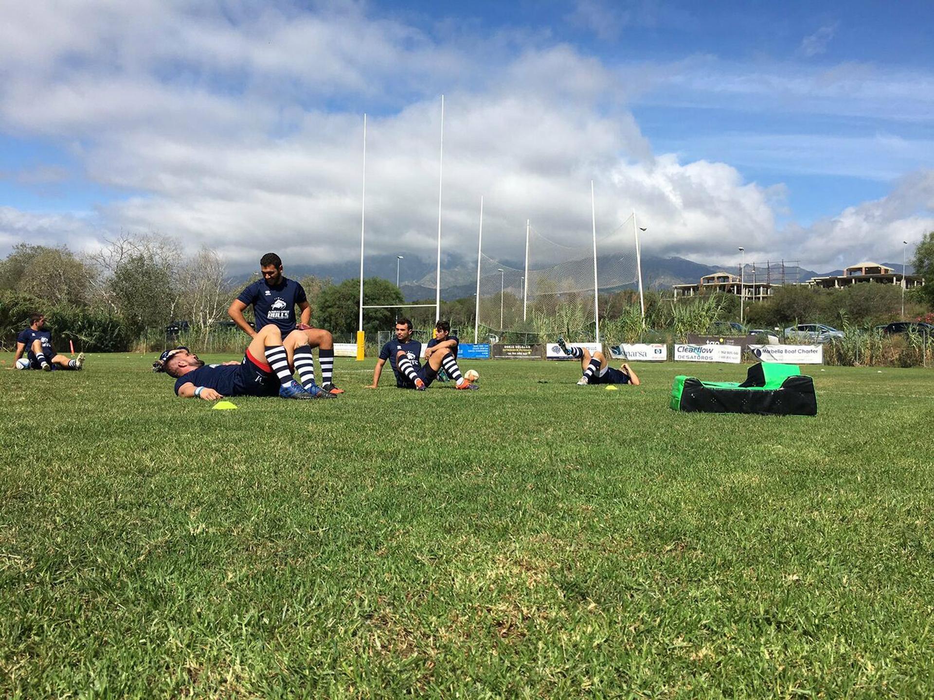 entrenamiento Marbella Rugby